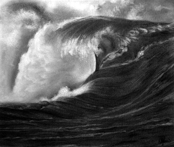 wave drawing 1