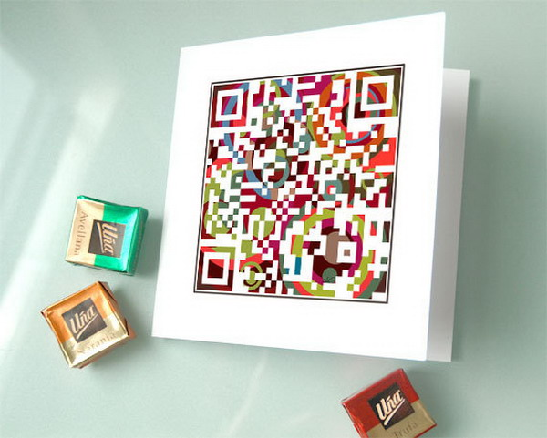 qr code holiday card 6