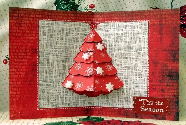 pop up christmas tree card 20