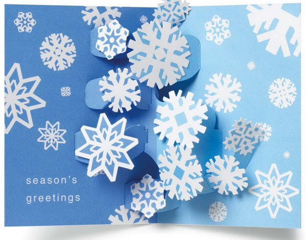 snow 3d christmas card 24