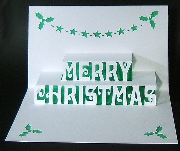 typography 3d christmas card 31