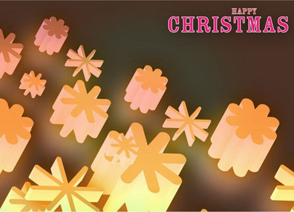 christmas snow lights card 34
