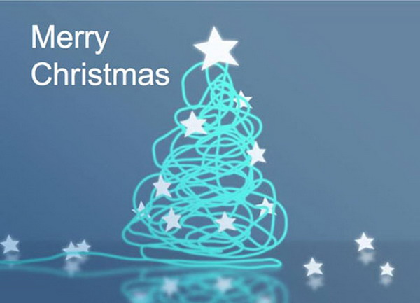 corporate style christmas card 29