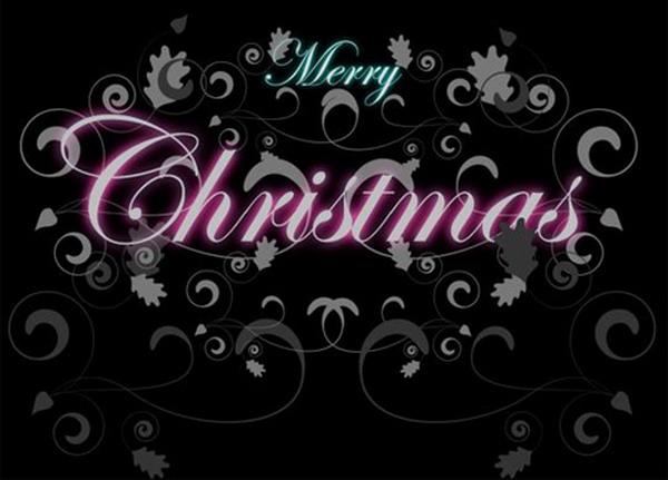 decorative christmas pattern card 36