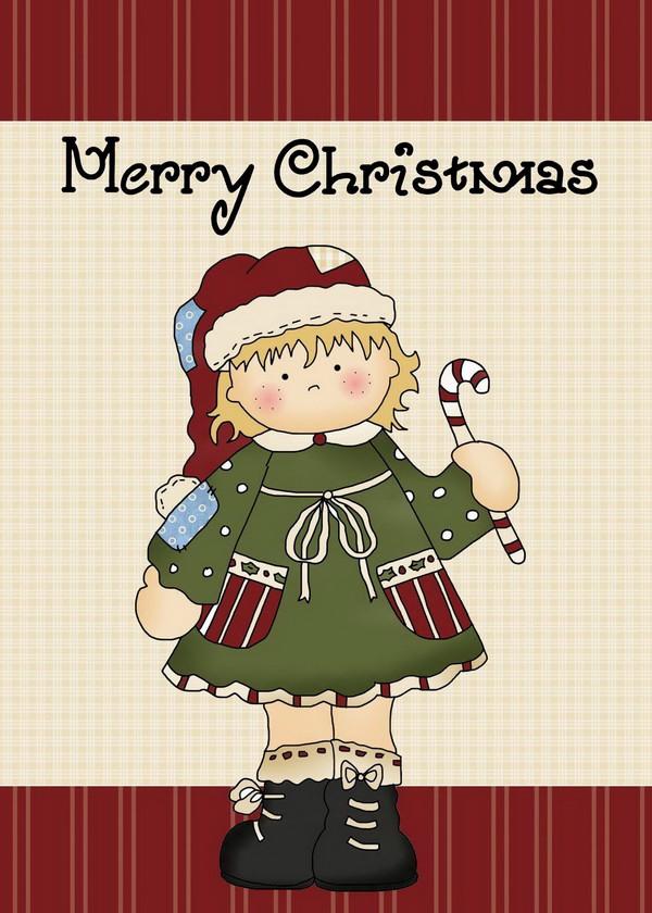 free printable christmas card 1