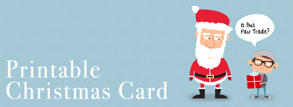 free printable christmas card template 4