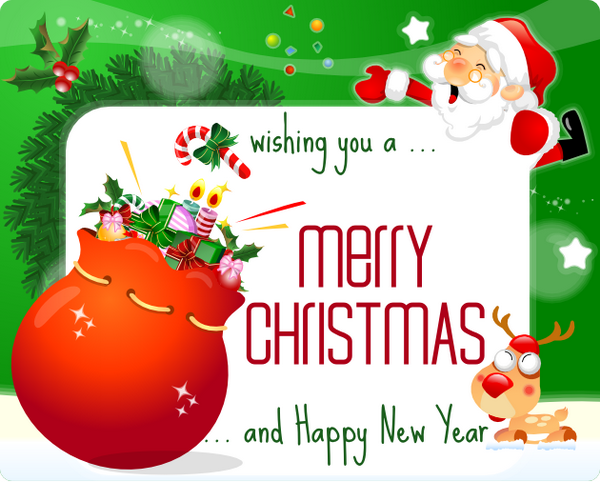 merry christmas printable card 44