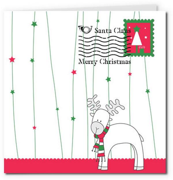 reindeer letter card 20