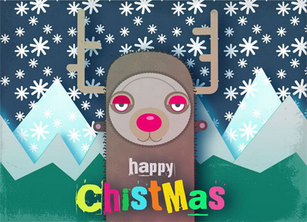 rudolf the red nosed reindeer card 33