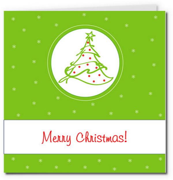 40 free printable christmas cards 2017 simple christmas tree card 15 m4hsunfo