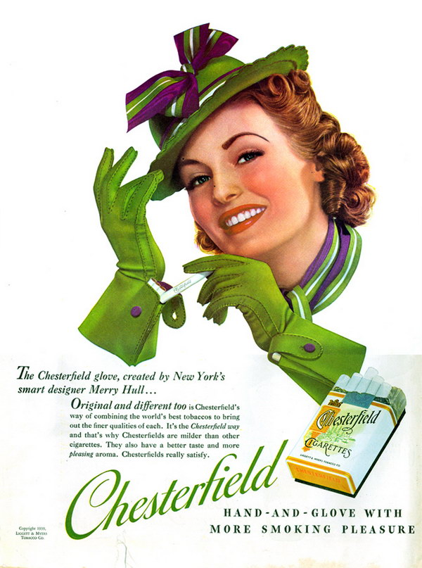 chesterfield cigarette advert 21