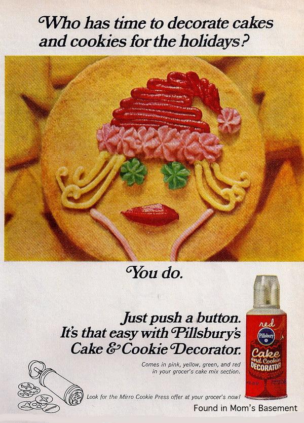 Pillsbury Cookie Cake Advertisement
