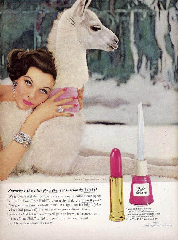 vintage beauty ad 1950s revlon 36