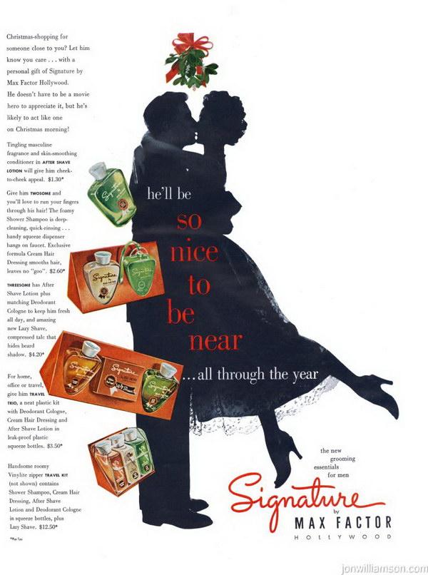 vintage beauty ad 1951 max factor signature 37