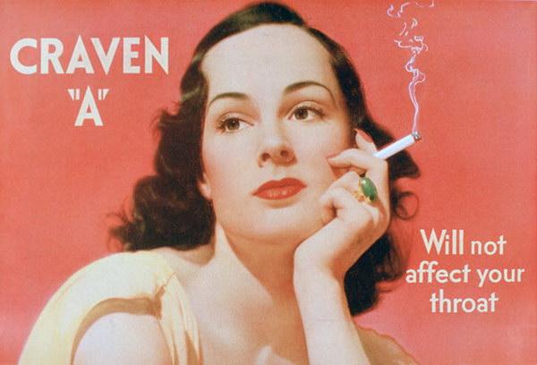 vintage cigarette ad craven a 12