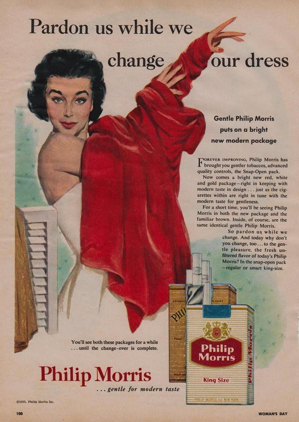 vintage cigarette ad philip morris 19