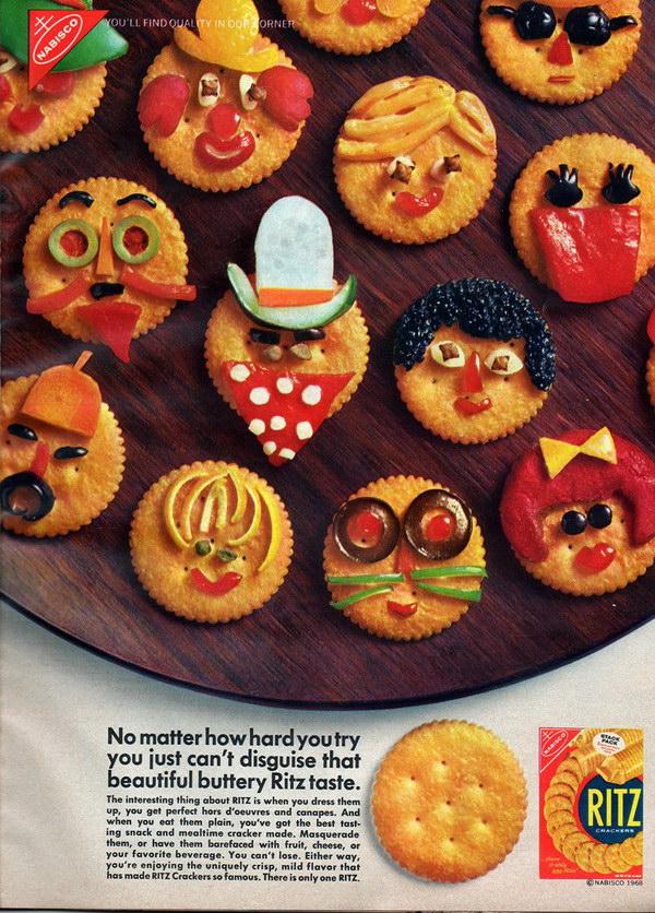 vintage food ad 1968 ritz crackers 30
