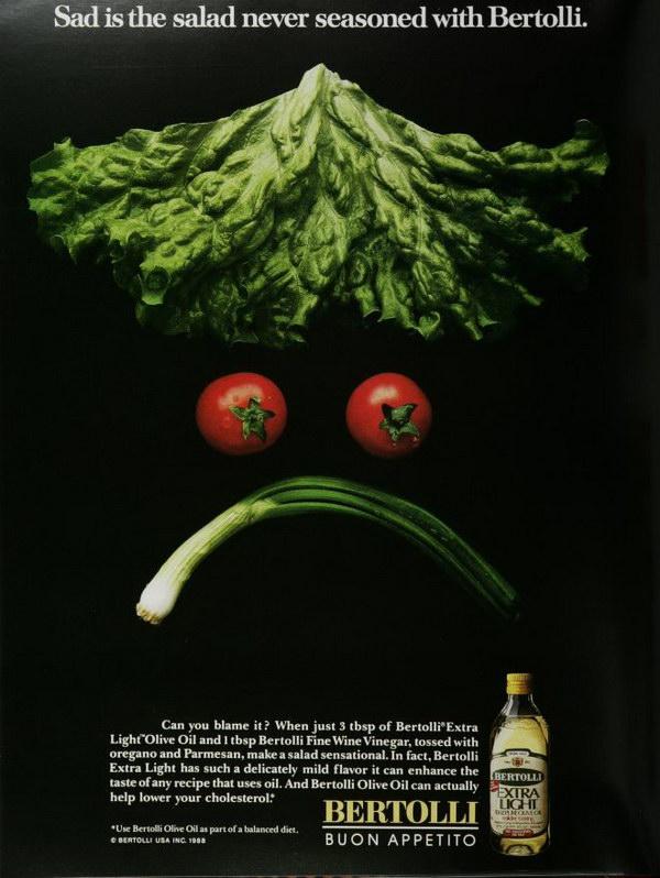 vintage food advert bertolli olive oil 22