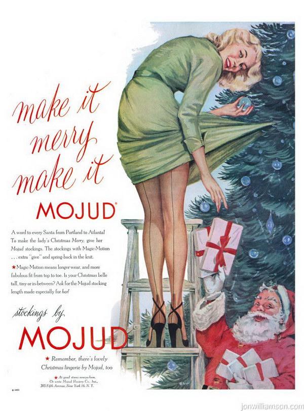 vintage christmas ad 9