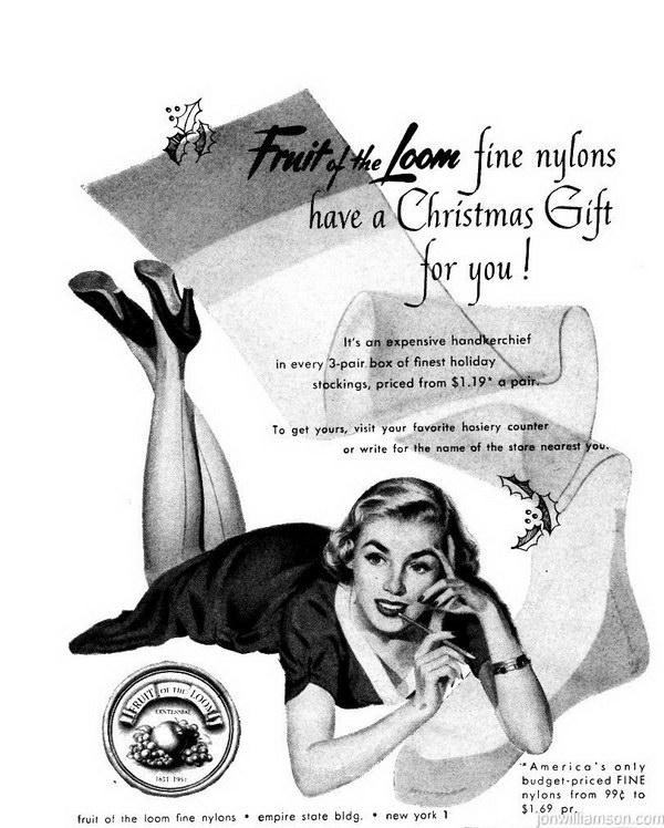 vintage christmas ads 2
