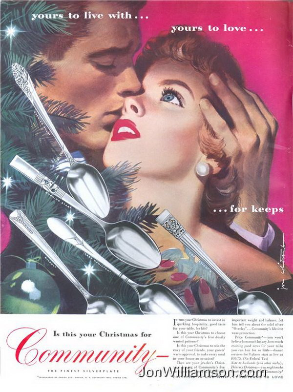 vintage christmas ads 6