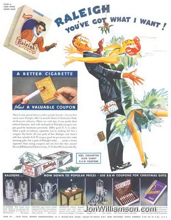 vintage christmas ads 7
