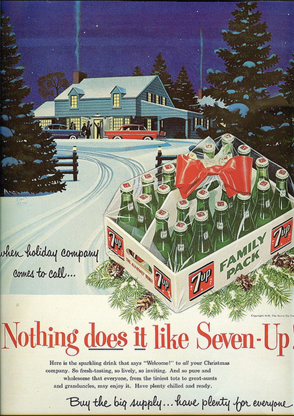 vintage christmas advertising 29