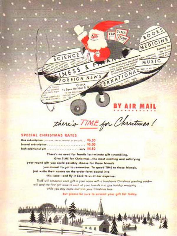 vintage christmas advertising 30