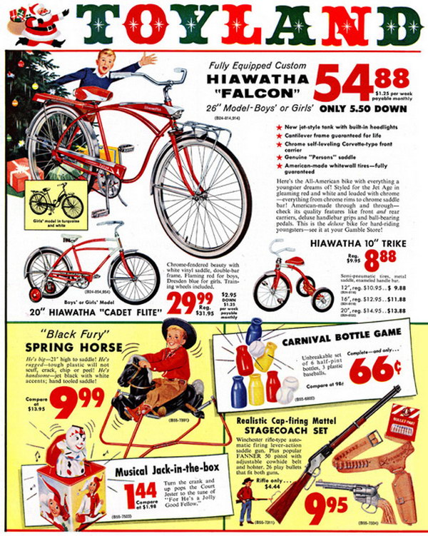 vintage christmas advertising 33