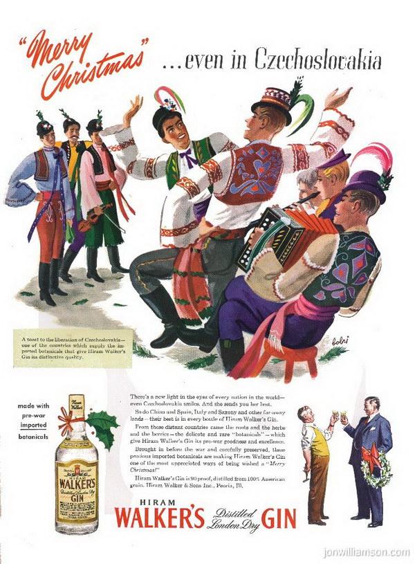 vintage christmas advertising 39