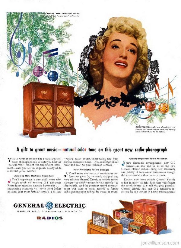 vintage christmas advertising 40
