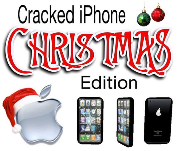 cracked iphone christmas ads 17