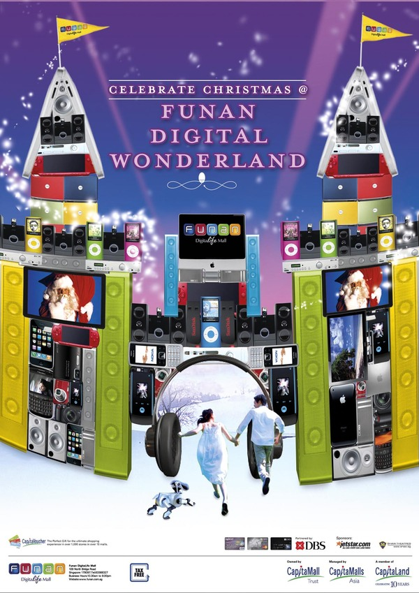 funan it mall xmas ads 2