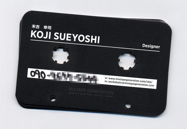 cassette business card 22