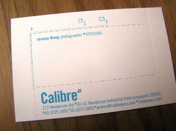 die cut business card 34