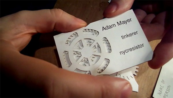 geared business card 3
