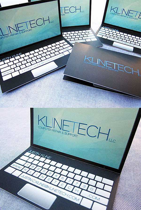 laptop design business card 17