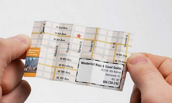 map business card 28