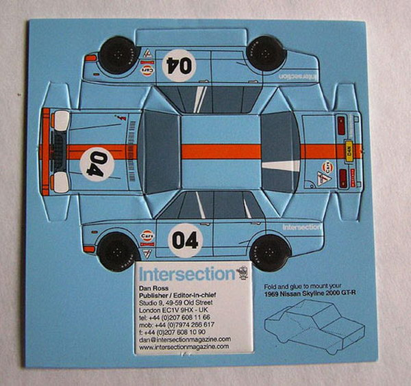 toy car business card 32