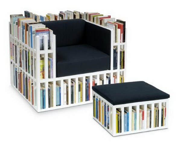 book chair design 2
