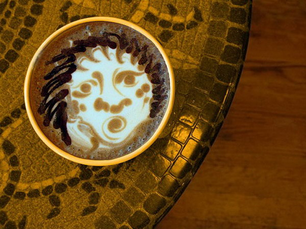 face coffee art 17