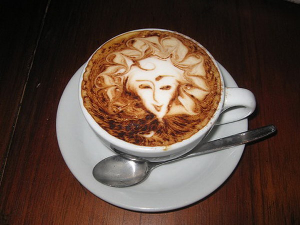 face coffee art 23