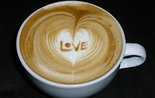 love coffee art 50
