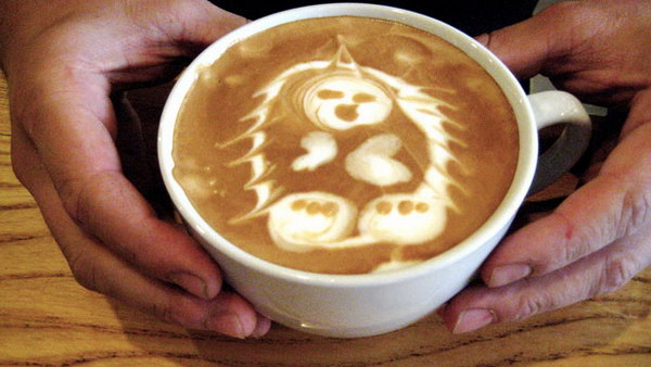 panda coffee art 35