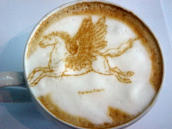 pegasus coffee art 4