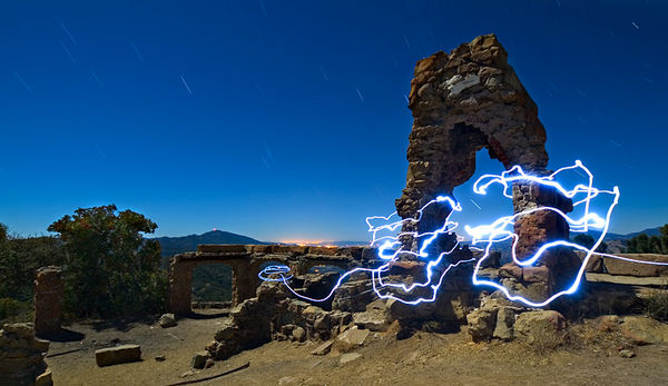 light painting photography 1
