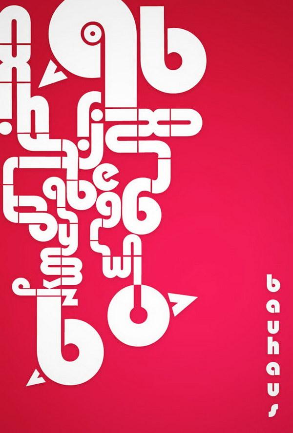 bauhaus typography poster 4