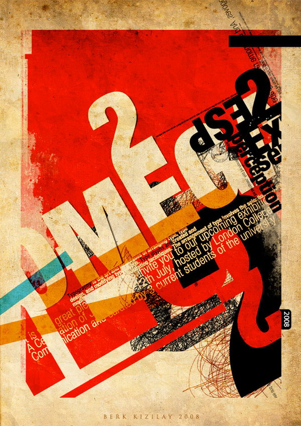 chaos is my name typographic poster 24