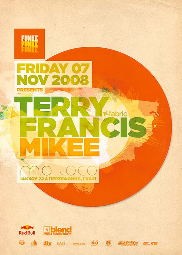 funke terry francis typographic poster 18