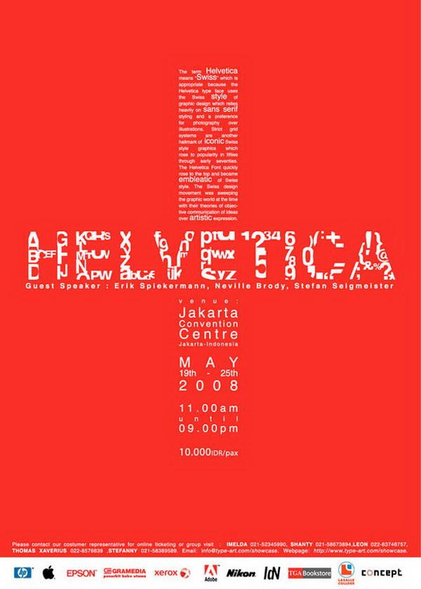 helvetica typography poster 13